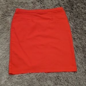 Red pencil skirt from h&m